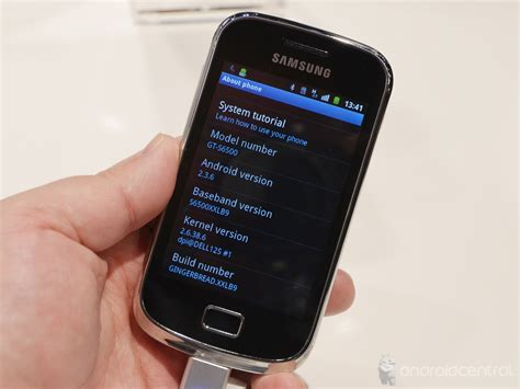 Samsung Mini 2 on with the samsung galaxy mini 2 android central