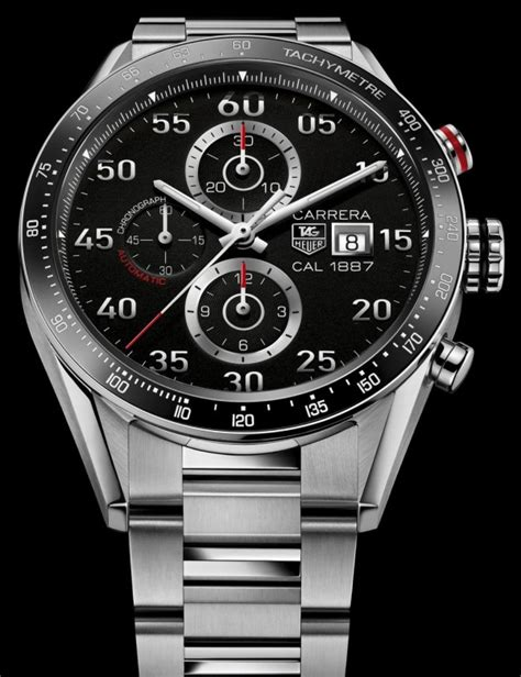 carrera watches tag heuer carrera calibre 1887 chronograph watch for 2013