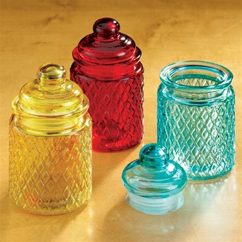 colored jars small colored glass jars colored glass jars kimball