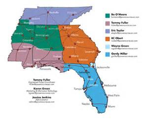 florida alabama territory coverage by power