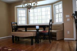 built in seating traditional dining room other metro