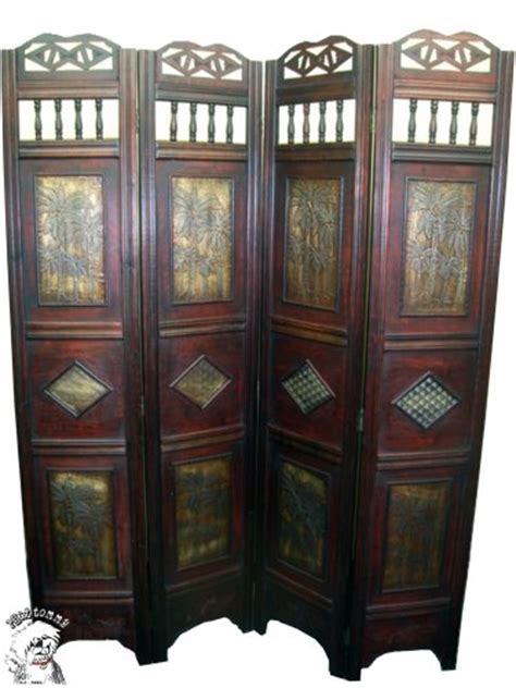 4 panel room divider cheap gt cheap folding palm tree 4 panel wood room