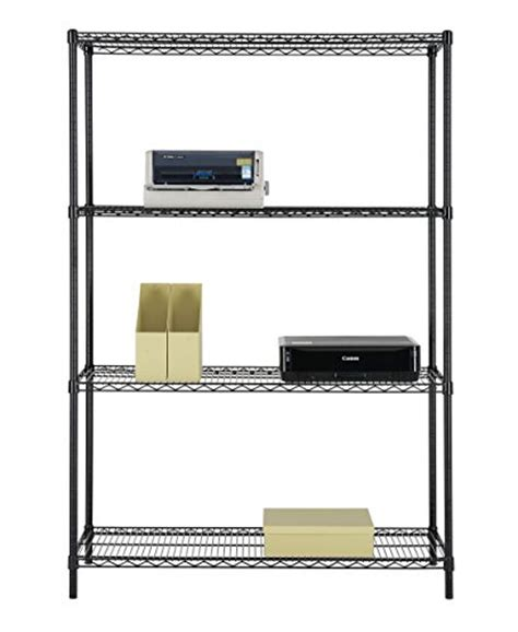 Nsf 6 Tier Commercial Grade Shelf by Excel Es 481872p Nsf Certified All Purpose 4 Tier Shelving
