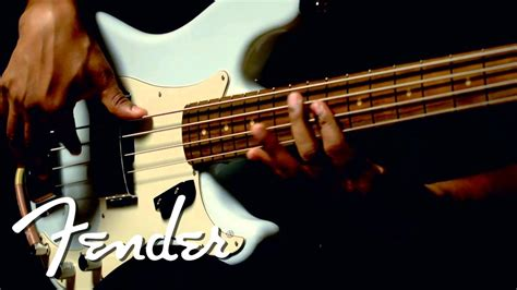 how to put on a fender in a 2010 aston martin vantage fender american vintage 63 precision bass demo youtube