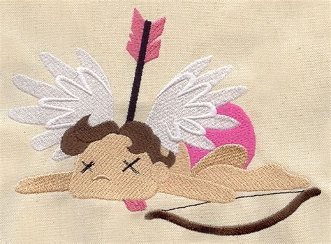 Poor Cupid Also Search For Cupid S Bad Day Threads Unique And Awesome Embroidery Designs