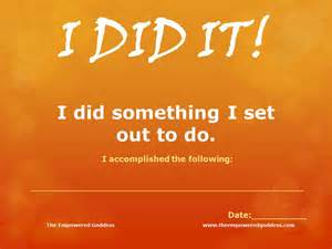 30 day challenge congratulations the empowered goddess