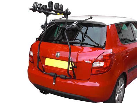 3 bike rutland high level easy fit car bike rack for