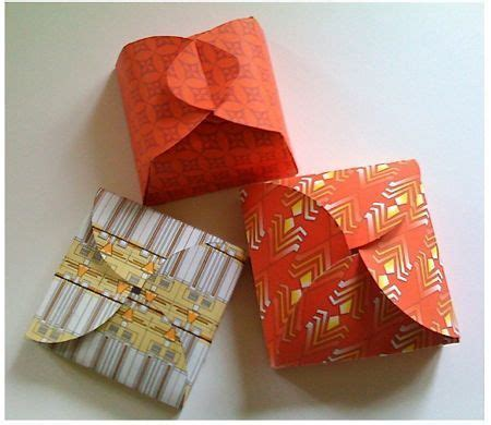Folded Paper Boxes - free pretty folded box templates 187 curbly diy design