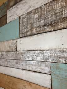 reclaimed wood wall household ideas