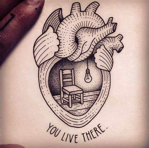 tattooed heart original these are the 25 most artistic and original heart tattoos