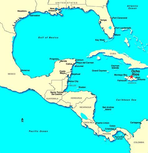 map us jamaica ocho rios jamaica discount cruises last minute cruises