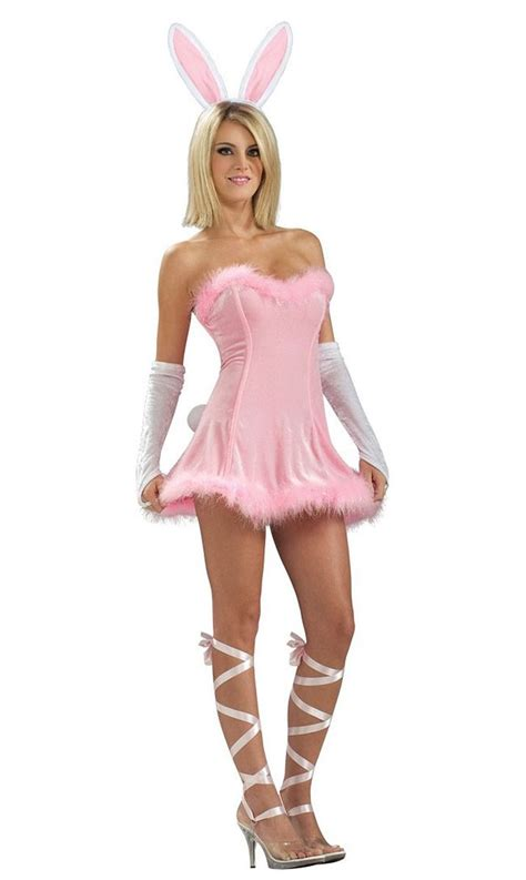 Dress Bunny Pink pink bunny s costume pink rabbit easter
