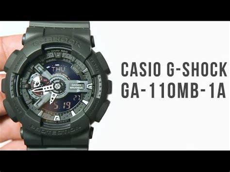 Casio G Shock Ga 110mb 1adr casio g shock ga 110mb 1adr erkek kol saati ayarlamas箟