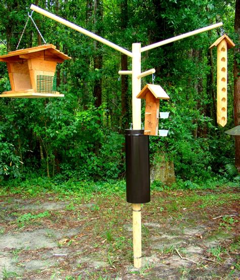 pole bird feeders squirrel proof unique bird feeder