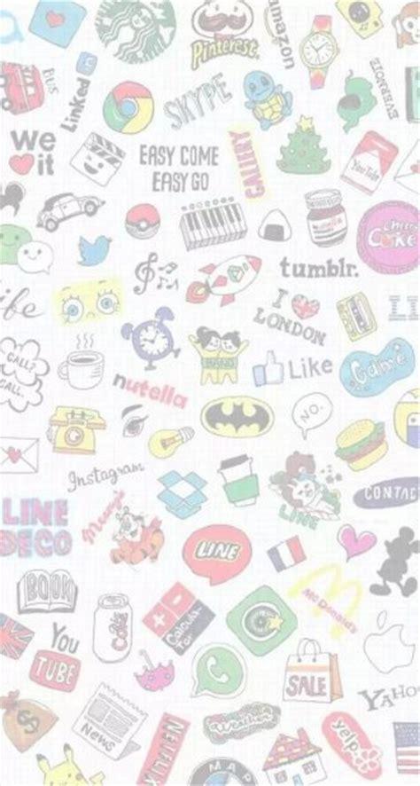 wallpaper chat line 女生扣扣背景图片