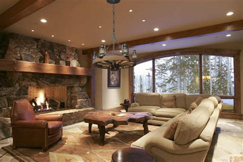 Western Living Room | brown leather couch living room ideas living room