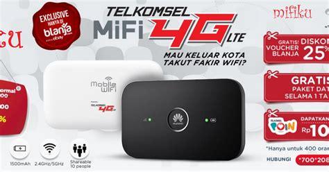 Modem Wifi Terbaik harga dan spesifikasi mifi 4g telkomsel