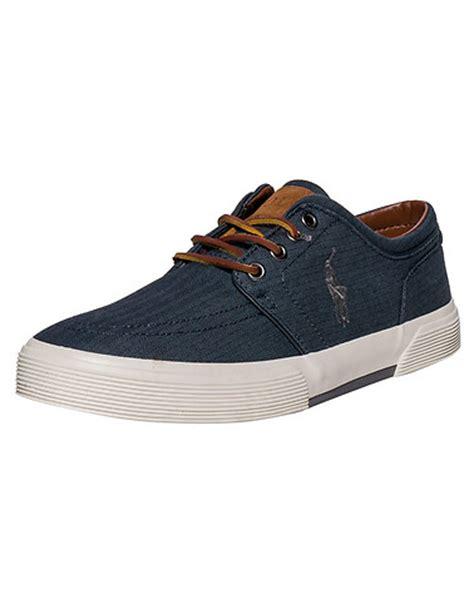 polo footwear faxon low shoe blue jimmy jazz