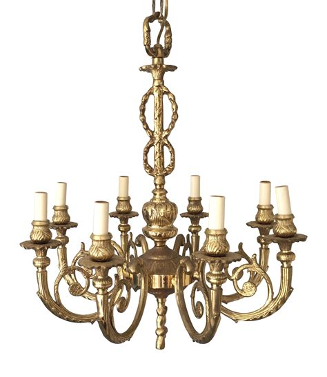 solid brass chandelier solid brass regency chandelier chairish