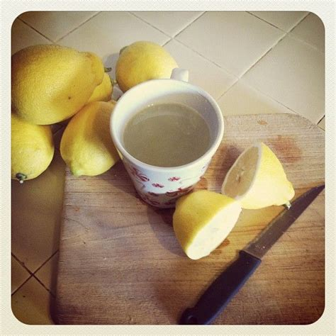 Warm Water Detox by Warm Not Water With Lemon Will Detox Your Liver And