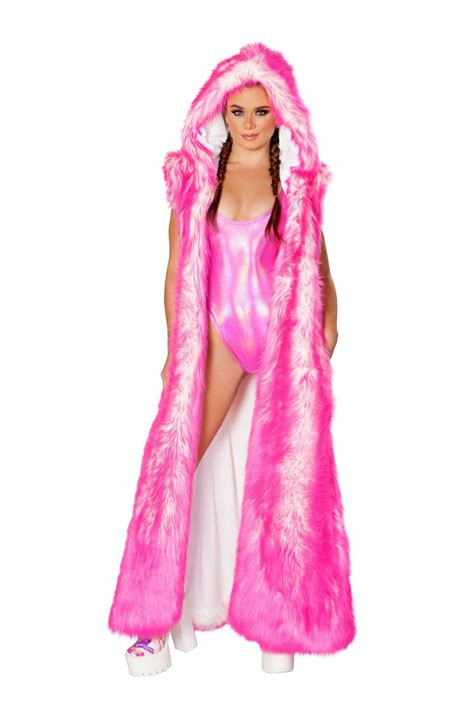 Pink Mr Teddy Big Size Daster clothing apparel for sale edm and costumes