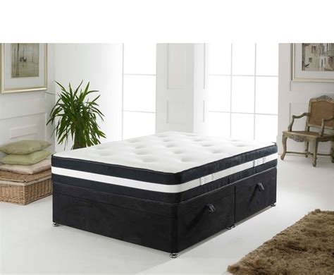 ottoman double beds airflow black small double 4ft ottoman bed uk delivery