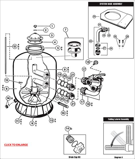 sand filter parts diagram hayward pro series sand filter parts poolstore