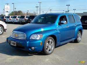 2009 aqua blue metallic chevrolet hhr lt 21212209