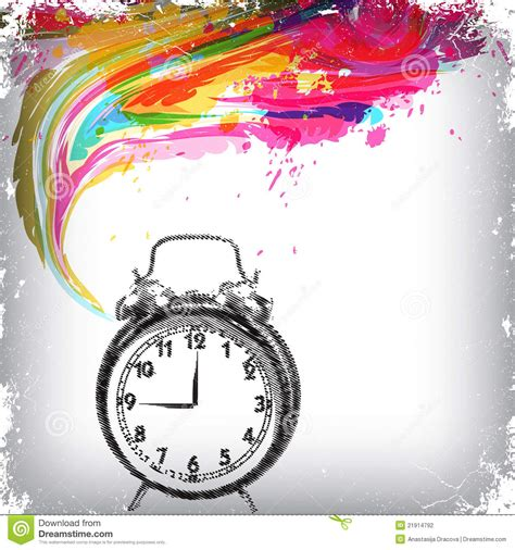 themes of clock clock theme grunge background stock photography image