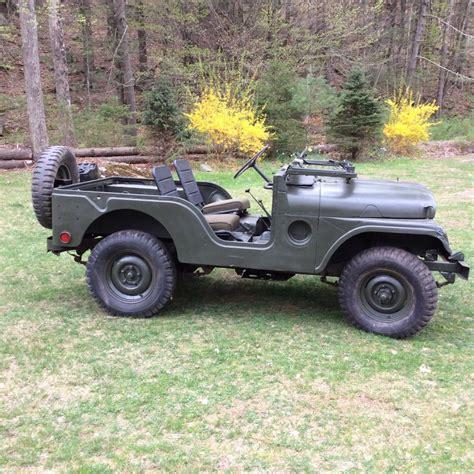 army jeep 2017 1952 willys army jeep m38a1 na prodej