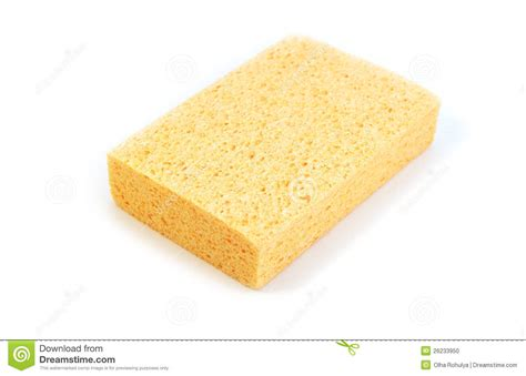 kitchen sponge yellow kitchen sponge stock photo image 26233950