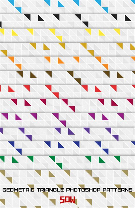 pattern triangle photoshop modern geometric triangle photoshop patterns by sdwhaven