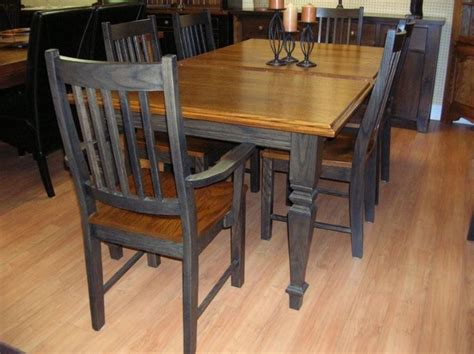 Solid Oak Kitchen Table And Chairs by Oak Table And Chair Durable And Versatile Pickndecor