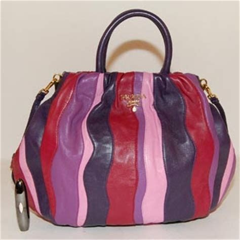 Prada Nappa Stripes Multicolor Tote by The Bags Affairs Satisfy Your Lust For Designer Bags