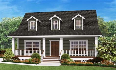 Small House With Ranch Style Porch Small House Plans | cape cod bedroom ideas small house plans ranch style