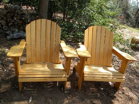 Handmade Adirondack Chairs - made adirondack chairs by porcupine designs
