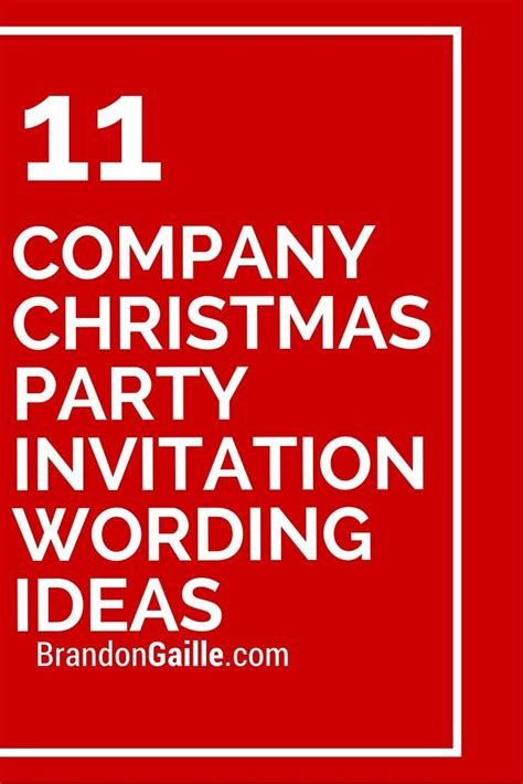 christmas party announcement for work 11 company invitation wording ideas invitations company