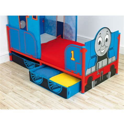 thomas bed thomas the tank engine feature toddler bed w storage