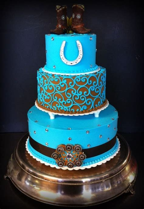 Western Cake Decorations by Best 25 Western Wedding Cakes Ideas On