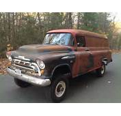 EBay Find This 1957 Chevy Panel Truck With NAPCO 4WD Is