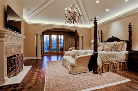 Home Interior Bedroom by Michael Molthan Luxury Homes Interior Design Group