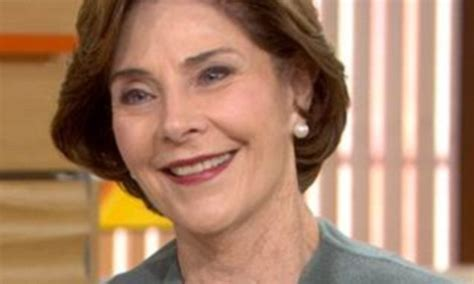 laura bush  cryptic comments  presidential race