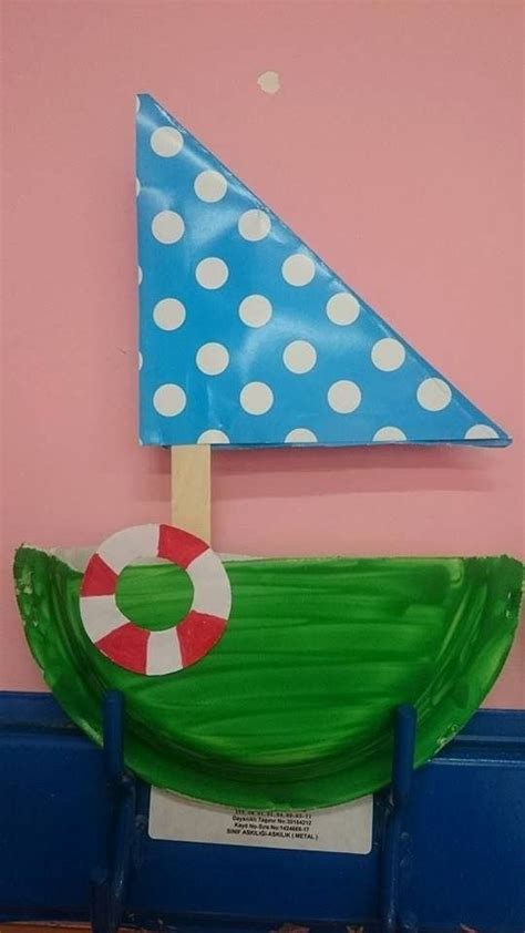 how to make a paper plate boat 1337 best paper plate crafts for children can make images