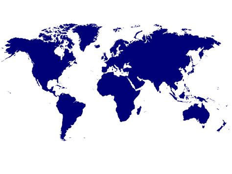 No Frills World Map Powerpoint Templates No Frills World Powerpoint World Map
