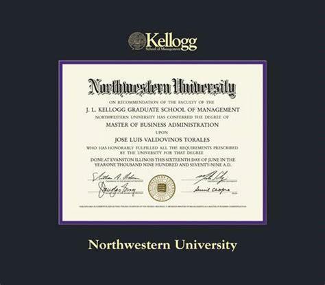 Mba Kellog Price by Custom Diploma Frames Certificate Frames Framing