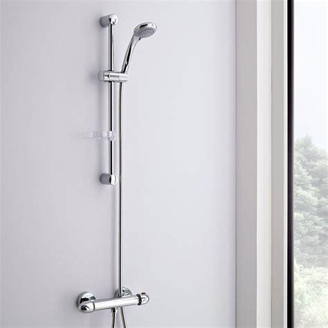 sali e scendi per doccia kit doccia completo con miscelatore doccia esterno asta