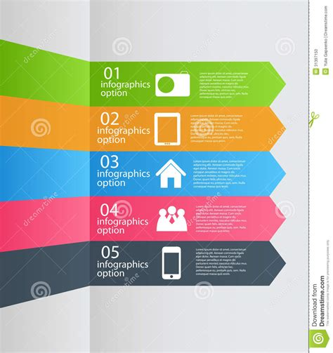 jpg to eps format infographic template business vector illustration stock
