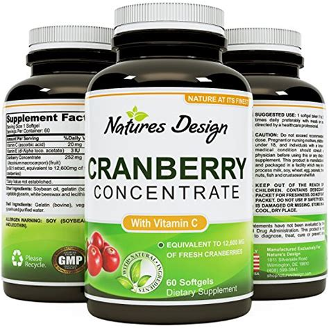 Cranberry Concentrate Pills Detox by Cranberry Concentrate Pills Urinary Tract Health Support