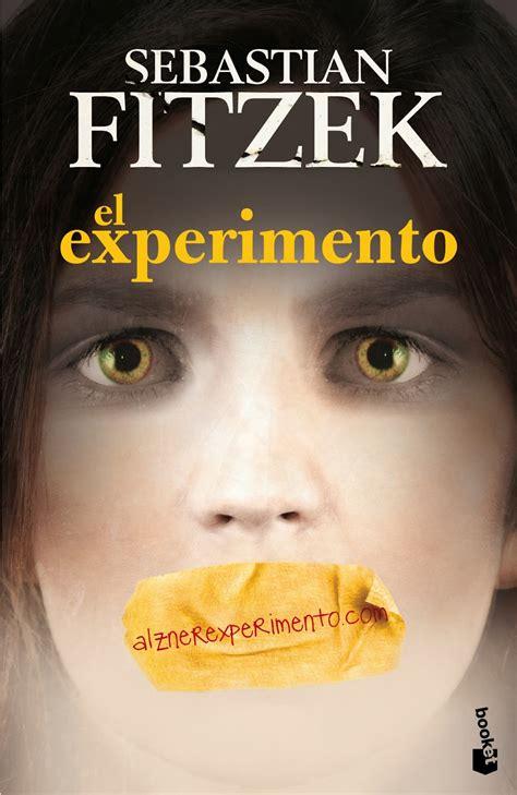 libro el experimento esto con un libro en la mano el experimento sebastian fitzek