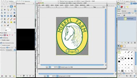 design a logo in gimp gimp transparent background in logo image youtube